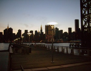 Barbarians at the gate:  Reflections on the decline of American innovation while watching a spectacular sunset at Gantry Park